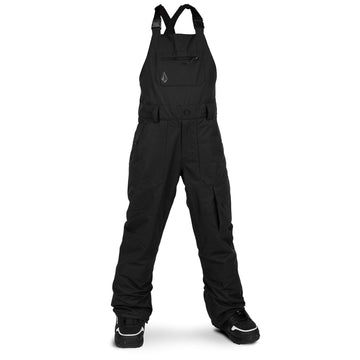 2021 Volcom Kids Barkley Bib Overall in Black