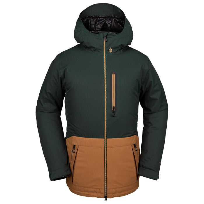2020 Volcom Deadly Stones Insulated Snow Jacket in Dark Green