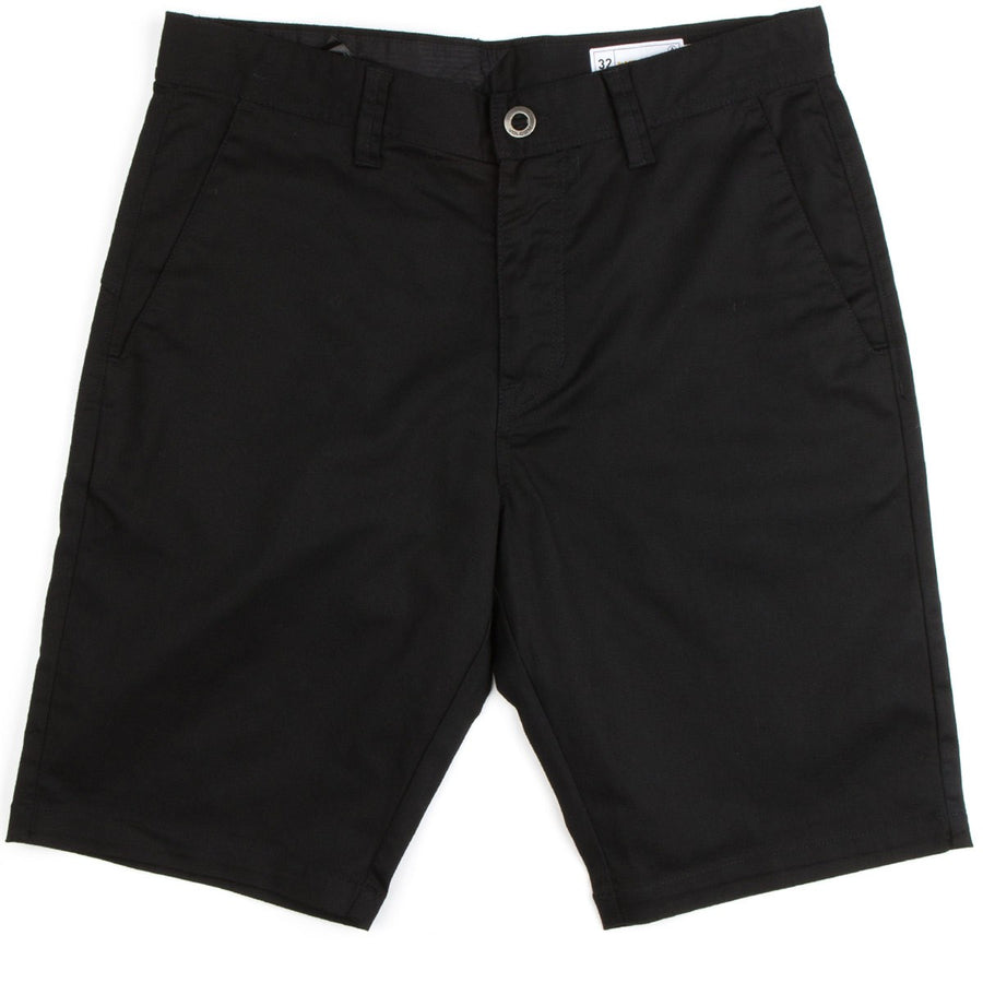 Volcom Frickin Modern Stretch Shorts in Black