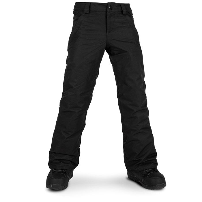 2020 Volcom Frochickidee Insulated Girls Snowboard Pant in Black