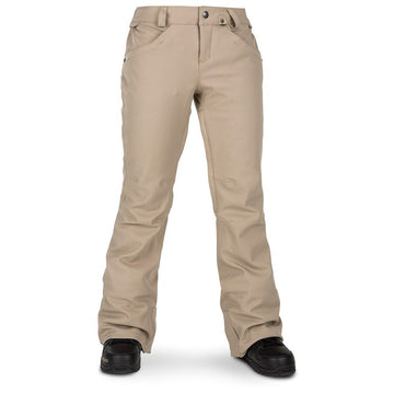 2020 Volcom Womens Grail 3D Stretch Pant in Sand Brown