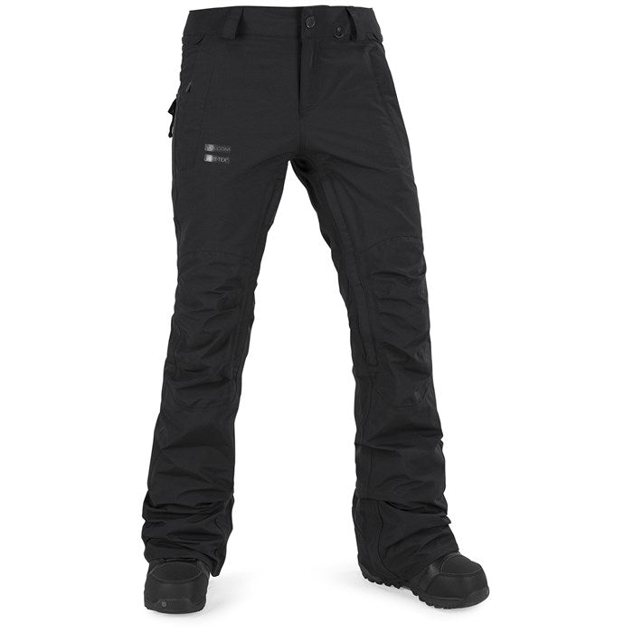 2019 Volcom Knox Insulated Gore Tex Womens Snow Pant in Black M