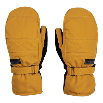 2021 Volcom Peep Gore-Tex Mitt in Resin Gold