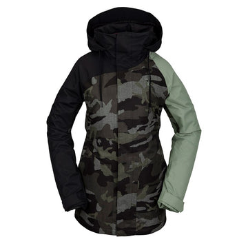 2021 Volcom Westland Insulated Jacket in Service Green