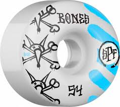 Bones War Paint SPF Skate Wheel in 54mm