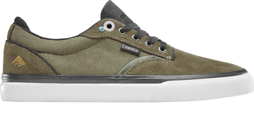 Emerica Dickson Pro Shoe in Olive and Black