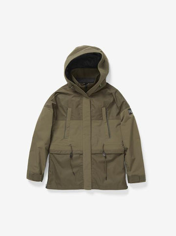 2020 Holden Womens Oversized Parka in Stone Green