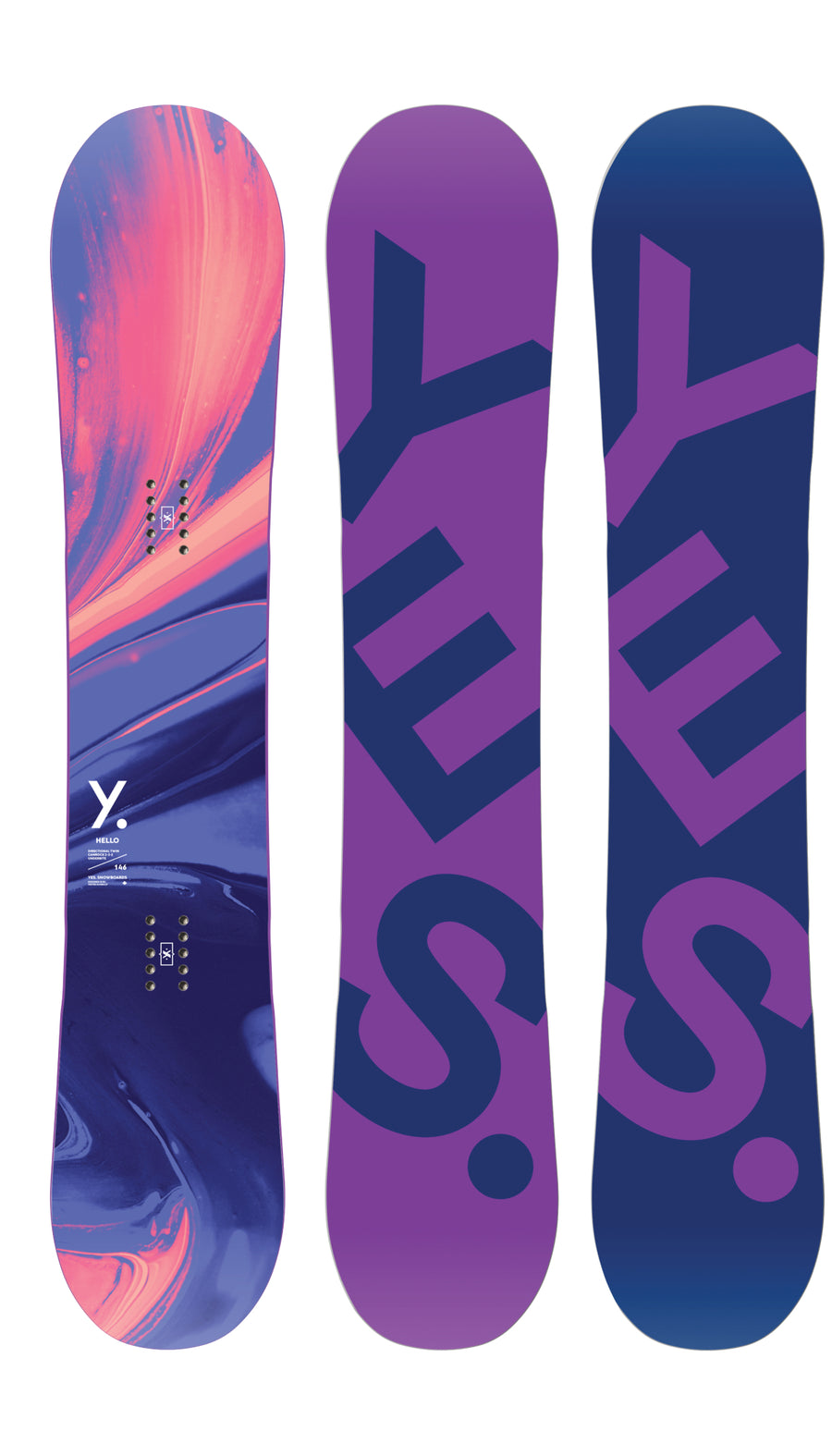 2021 Yes Hello Womens Snowboard