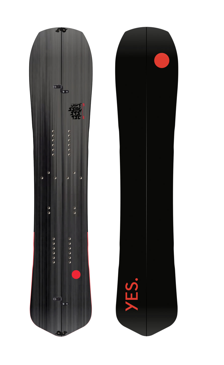 2021 Yes Optisplitstic Split Snowboard