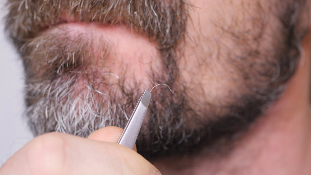 Can Plucking Out Too Many Gray Hairs Affect Your Beard?