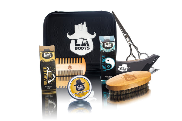 Best Beard Care Kit 2019 | Includes Oil, Essence, Balm, Brush, and Free Shipping