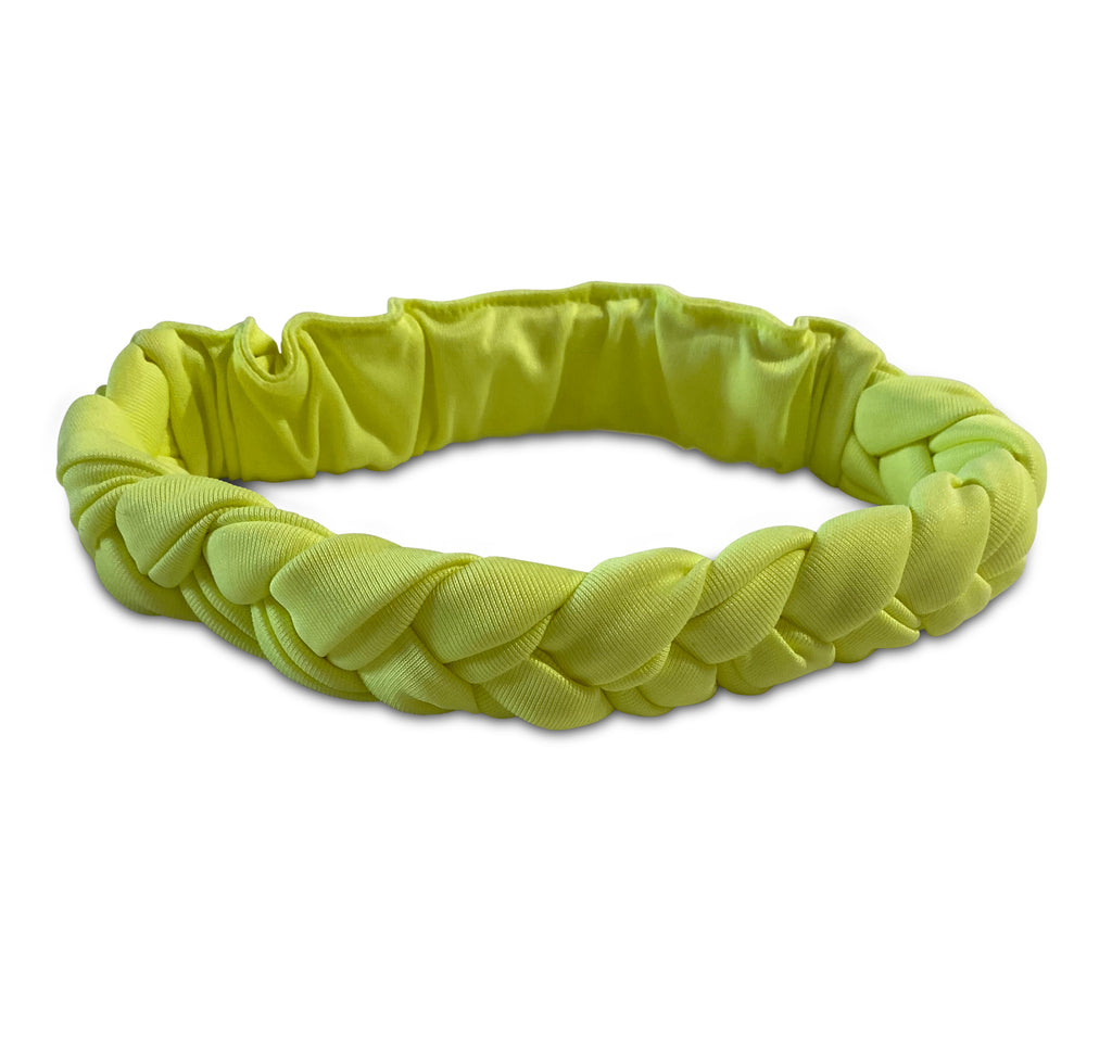 BRAIDED HEADBAND NEON