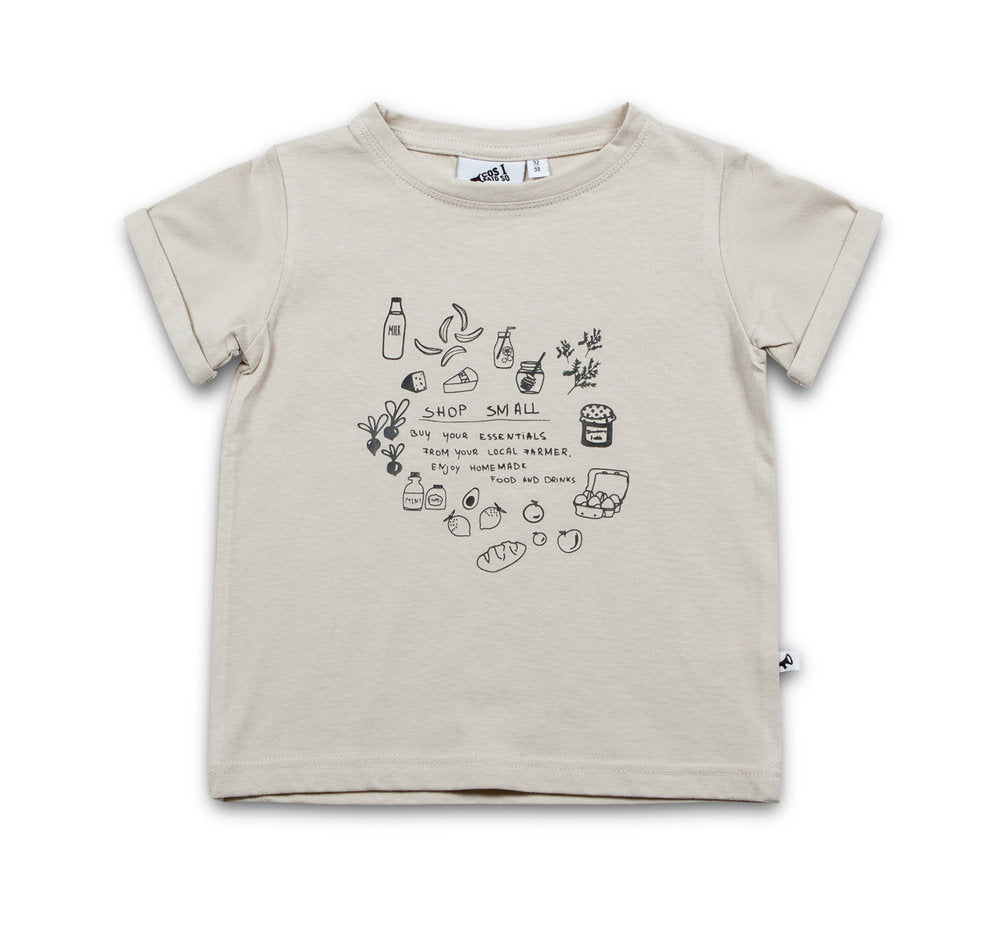SHOP SMALL SS T-SHIRT