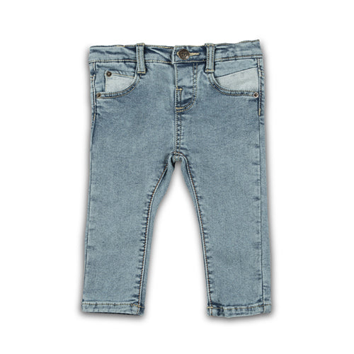 DENIM PANT ICE BLUE