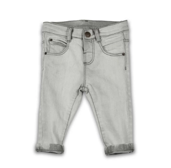 DENIM PANT SUMMER GREY