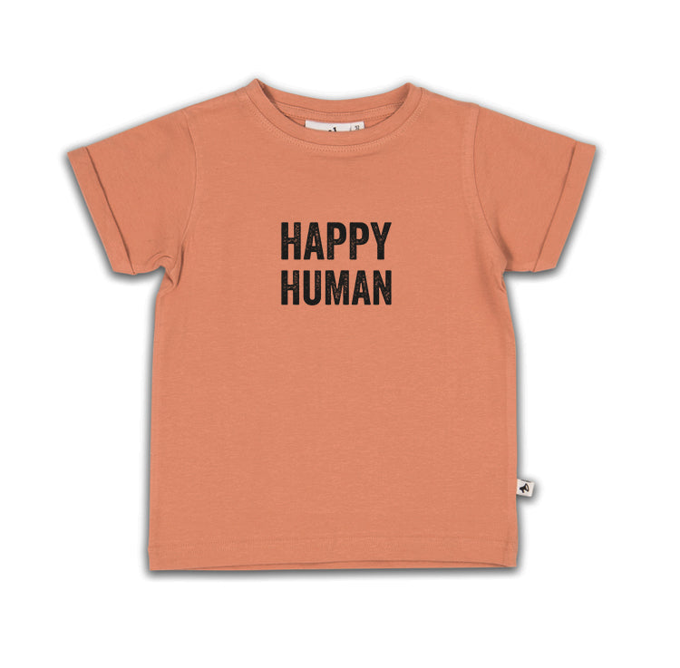 HAPPY HUMAN T-SHIRT CAMEO (SHORT + LONG SLEEVE)