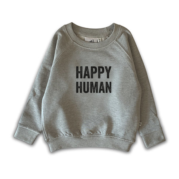 HAPPY HUMAN SWEATER GREY