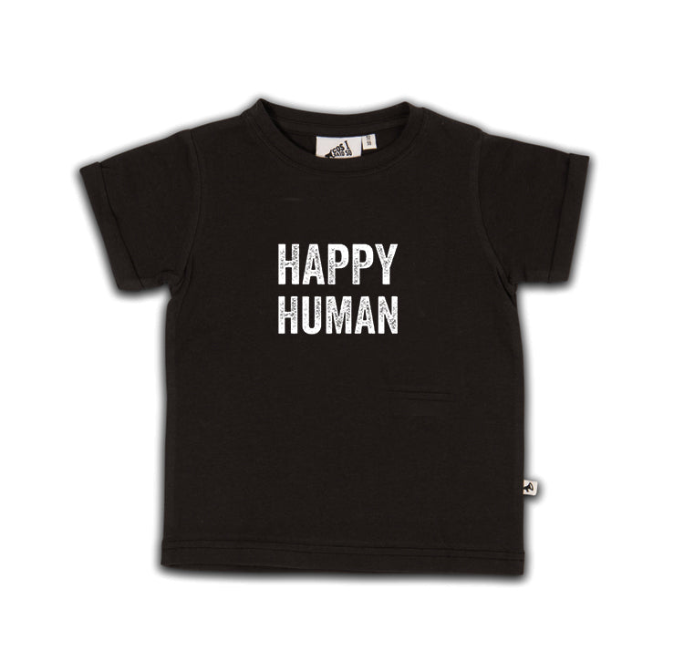 HAPPY HUMAN T-SHIRT SS METEORITE