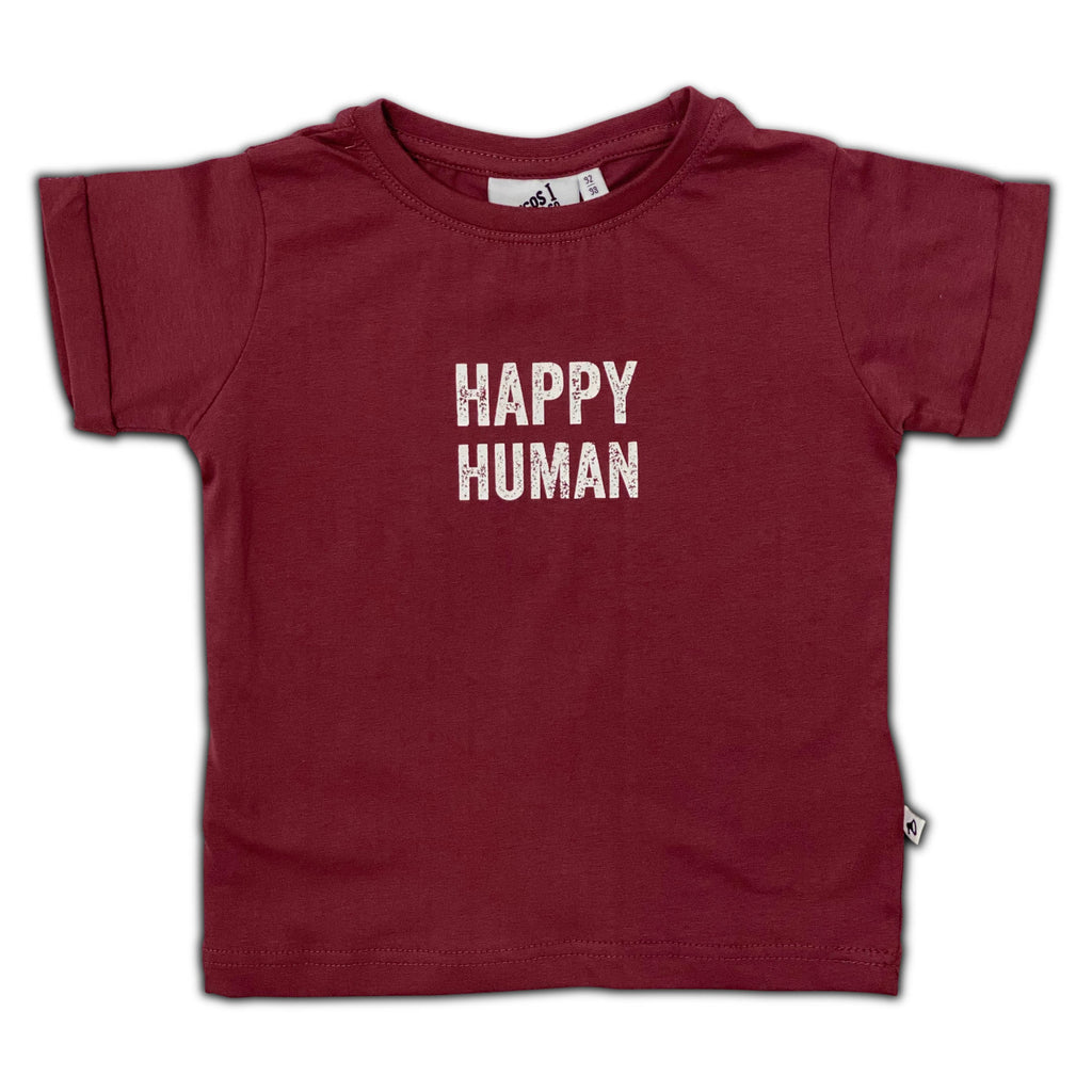 HAPPY HUMAN T-SHIRT roan