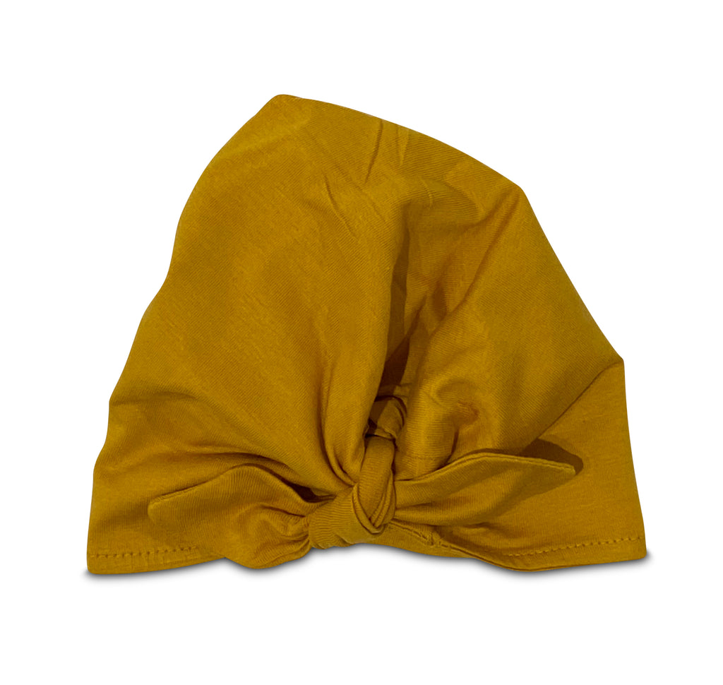 TURBAN HAT GOLDEN