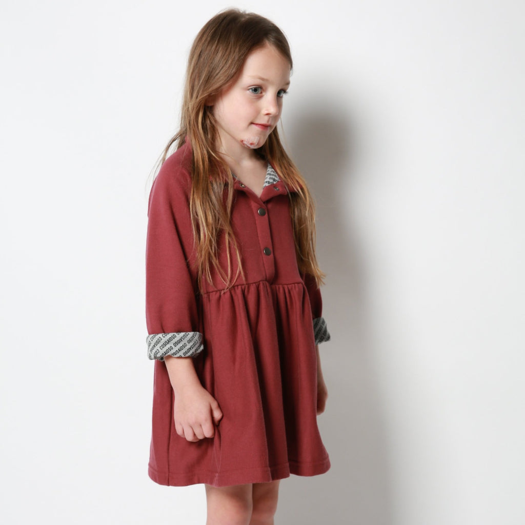 BABYDOLL SHIRT DRESS ROAN