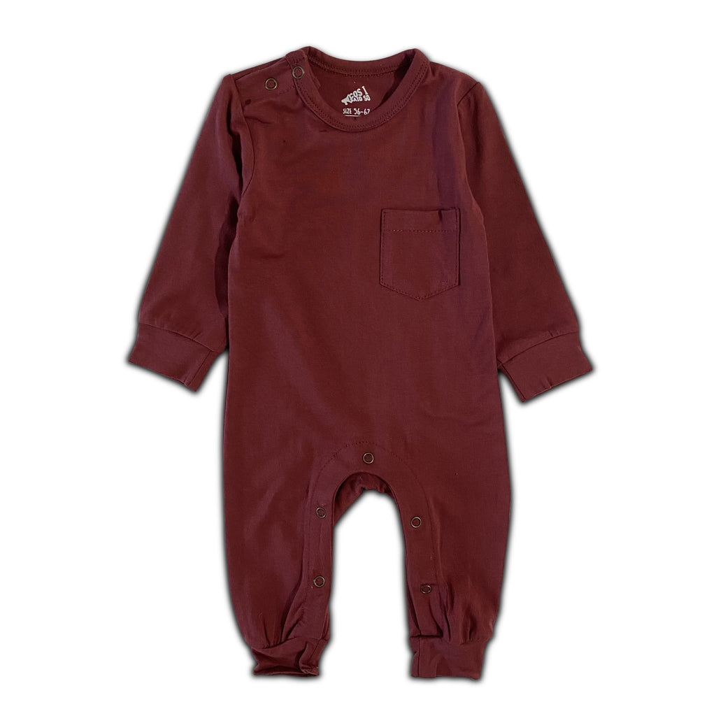 LONG SLEEVE ONESIE ROAN