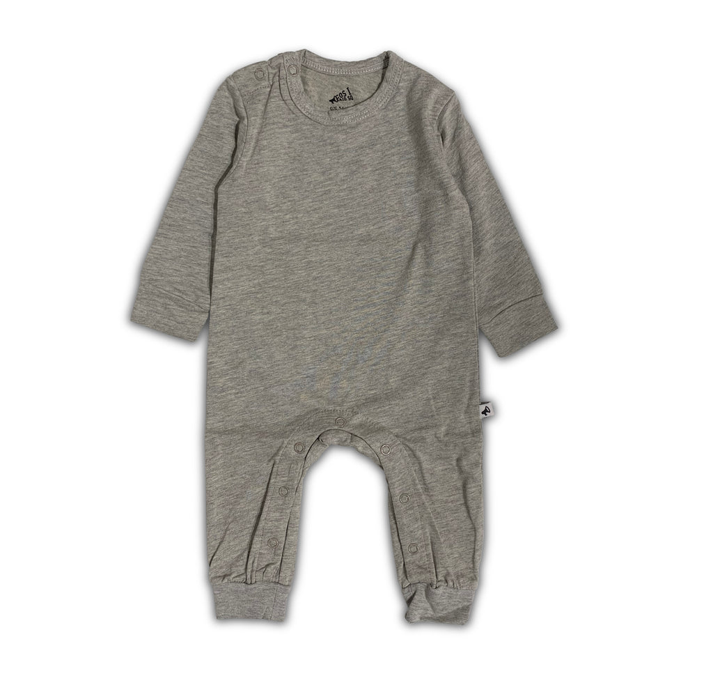 LONG SLEEVE ONESIE GREY
