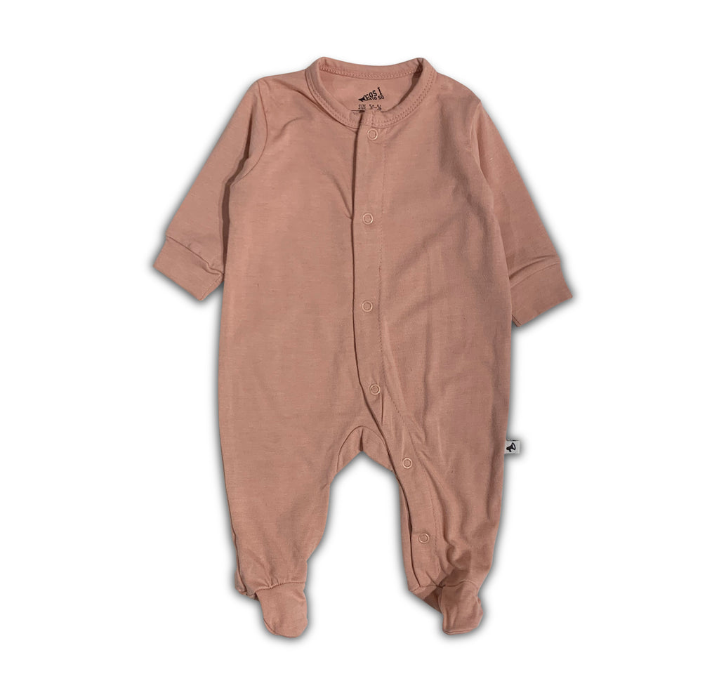LONG SLEEVE ONESIE PINK