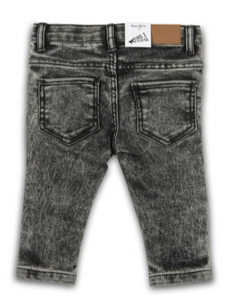 DENIM PANT STONE BLACK