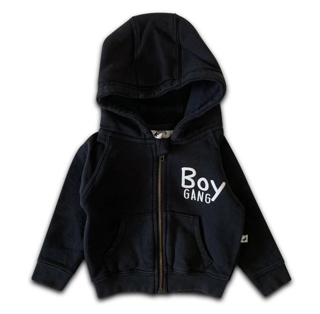 BOY GANG ZIP HOODIE GREY + colors