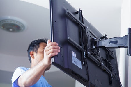 Install your LCD TV in 3 Simple Steps