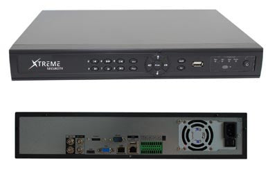 Xtreme 4ch 720P 2 Bay Hard Disk 4 PoE Face Detection Smart HD NVR