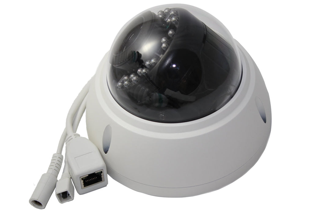 Xtreme 2 Megapixel 1080P Sony Starlight WDR Sensor Vandal Proof Dome PoE IP Camera.