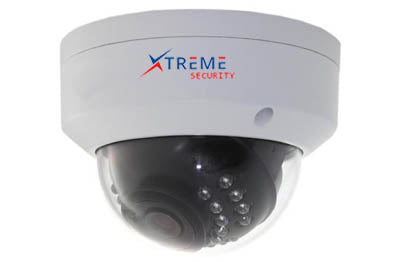 Xtreme 2 Megapixel 1080P Sony Starlight Sensor Small Vandal Proof Dome PoE IP Camera.