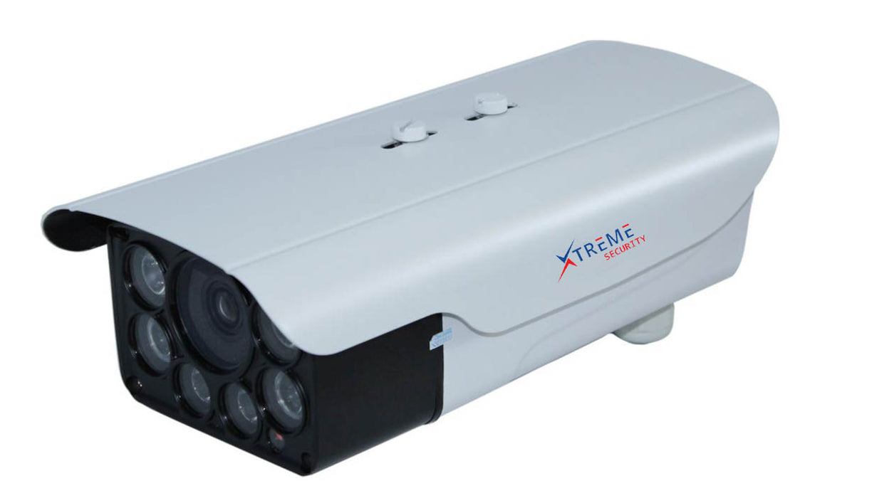 Xtreme H.265 / H.264 5.0 Megapixel 25/30fps 3-12mm Motorized Zoom Lens IP66 Waterproof Outdoor IR Bullet IP Camera