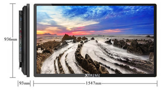 Xtreme 55-Inch Interactive Screen.