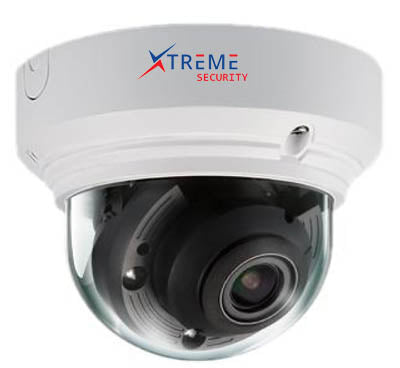 Xtreme H.265/H.264 5 Megapixel @25fps Motorized Zoom Starlight IR Vandal Proof IP Camera.