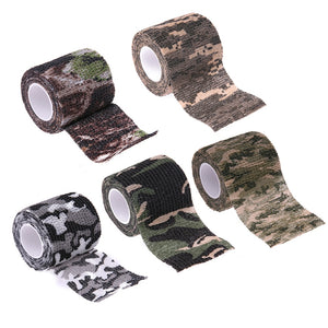VET WRAP FIRST AID TAPE  Wrap Adhesive Nonwoven Fabric Camouflage Tape 5X4.5CM