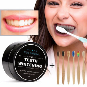 Natural Teeth Whitening Charcoal Powder Organic pure safe - Az Silver Cowboy Essentials