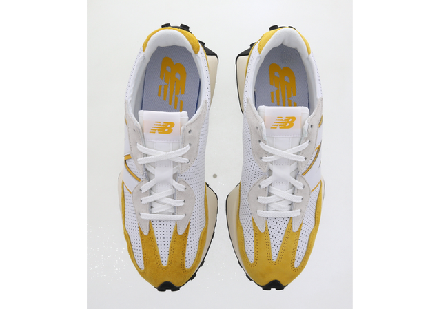 New Balance 327 Yellow White