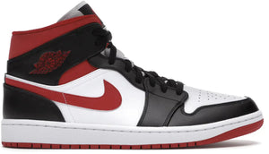 Nike Air Jordan 1 Mid Gym Red Black White