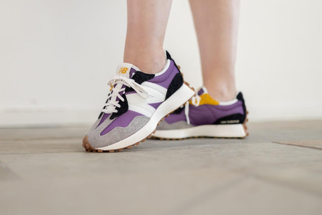 New Balance 327 Purple White (W)