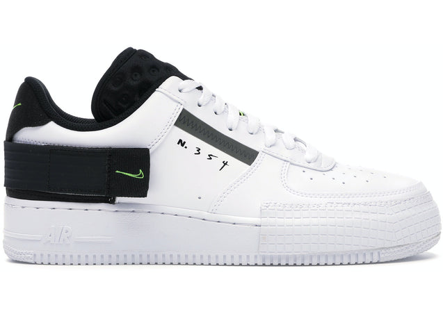 Nike Air Force 1 Type Black Volt