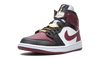 Nike Air Jordan 1 Mid Black Beetroot