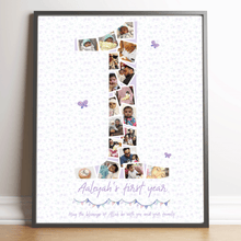 Load image into Gallery viewer, 1st Birthday Print
