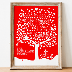 Heart Family Tree