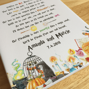 Magical Themed Wizards Gifts Love Poem