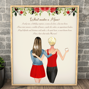 Mother And Daughter Keepsake