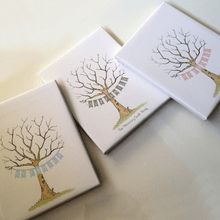 Load image into Gallery viewer, Baby Shower Fingerprint Tree