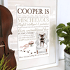 Personalised Dog Breed Gift